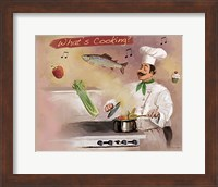 Framed Look What's Cooking