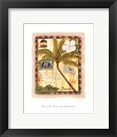 Framed Vacance Tropicale