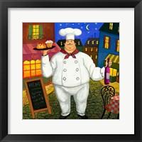 Framed Pastry Chef Master
