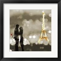 Framed Date in Paris (BW, detail)