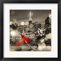 Framed Dancin' in the Moonlight (BW, detail)