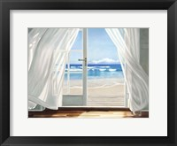 Framed Window by the Sea
