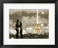 Framed Date in Paris (BW)