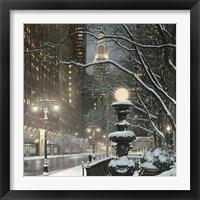 Framed City Lights NYC