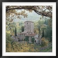 Framed Hills of Chianti