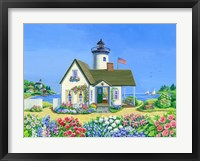 Framed Lighthouse Cottage