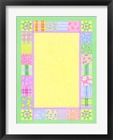 Framed Baby Quilt Border