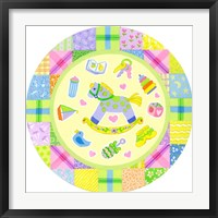 Framed Baby Theme Round