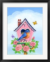 Framed Bluebird Valentine
