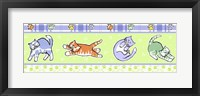 Framed Fun Kitties Border