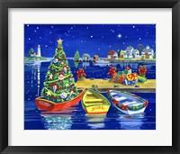 Framed Christmas Dock