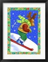 Framed Downhill Racer Moose