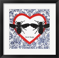Framed Love Bugs Valetines