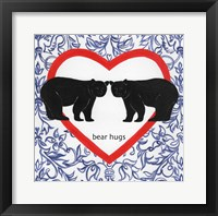 Framed Bear Hugs Valetines