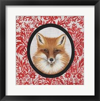 Framed Fox Portrait