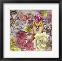 Framed Hiding Fox