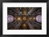 Framed L Notre Dame  II