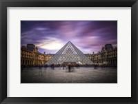 Framed Louvre I