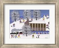 Framed Winter Station