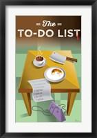 Framed To Do List
