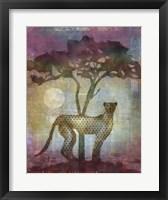 Framed Africa Cheetah