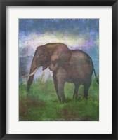 Framed Africa Elephant