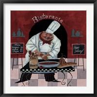 Framed Chef Kitchen Menus