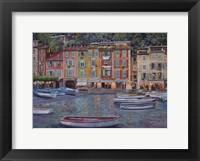 Framed Portofino al Crepuscolo