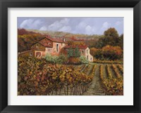 Framed Tra Le Vigne a Montalcino