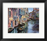 Framed Venezia in Rosa