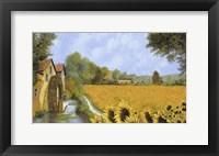 Framed IL Mulino e i Girasoli