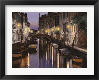 Framed Venezia al Crepuscolo