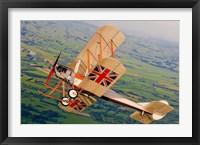Framed Royal Aircraft Factory BE 2c