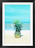 Framed Pineapple on the Sand