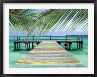 Framed Rainbow Dock