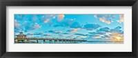 Framed Sunrise on Juno Beach