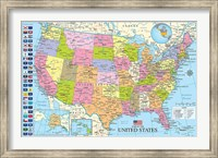 Framed Maps of the United States