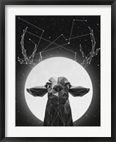 Framed Banyon Deer