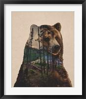 Framed Bear Lake
