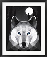 Framed Tundra Wolf