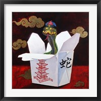 Framed Takeout with a Twist