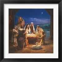 Framed Holy Night