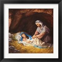 Framed Sleep in Heavenly Peace