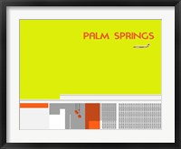 Framed Gods of Palm Springs No 1