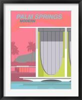 Framed Palm Springs Modern