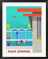 Framed Wexlers Palm Springs