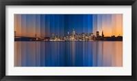 Framed Chromatic Symphony San Francisco