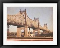 Framed Queensborough Bridge