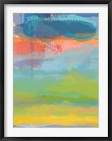 Framed Coral Sky