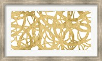 Framed Endless Circles Front Gold IV
